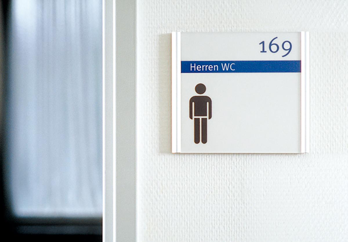 Arbeitsagentur_Schild WC