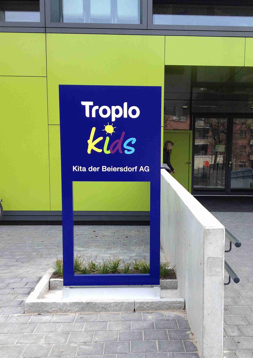Beiersdorf_Kitaschild