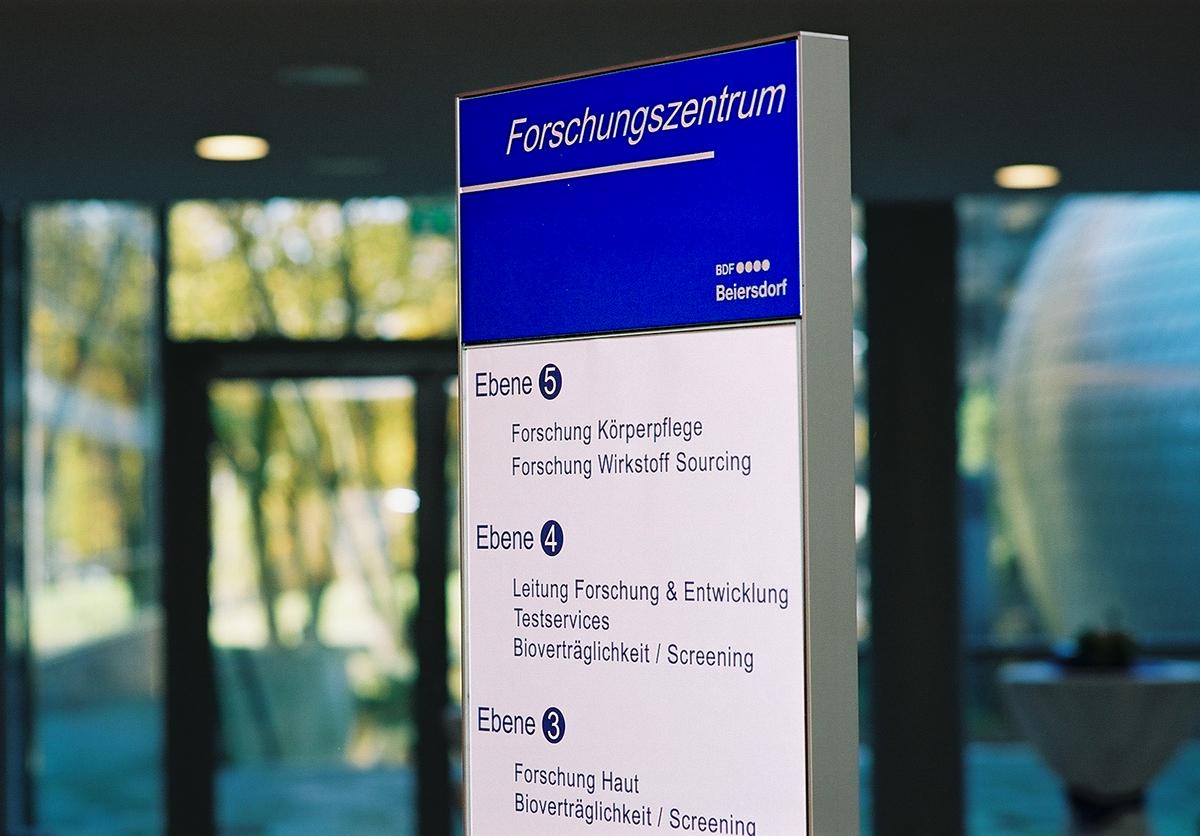 Beiersdorf_Stele Forschung