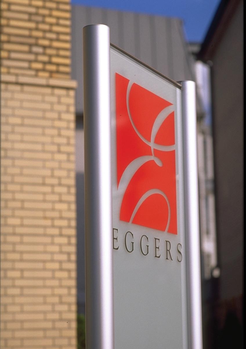 Hotel Eggers Stele