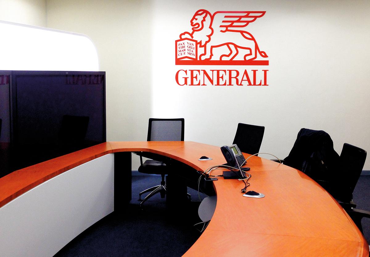 Generali_Logo Wand