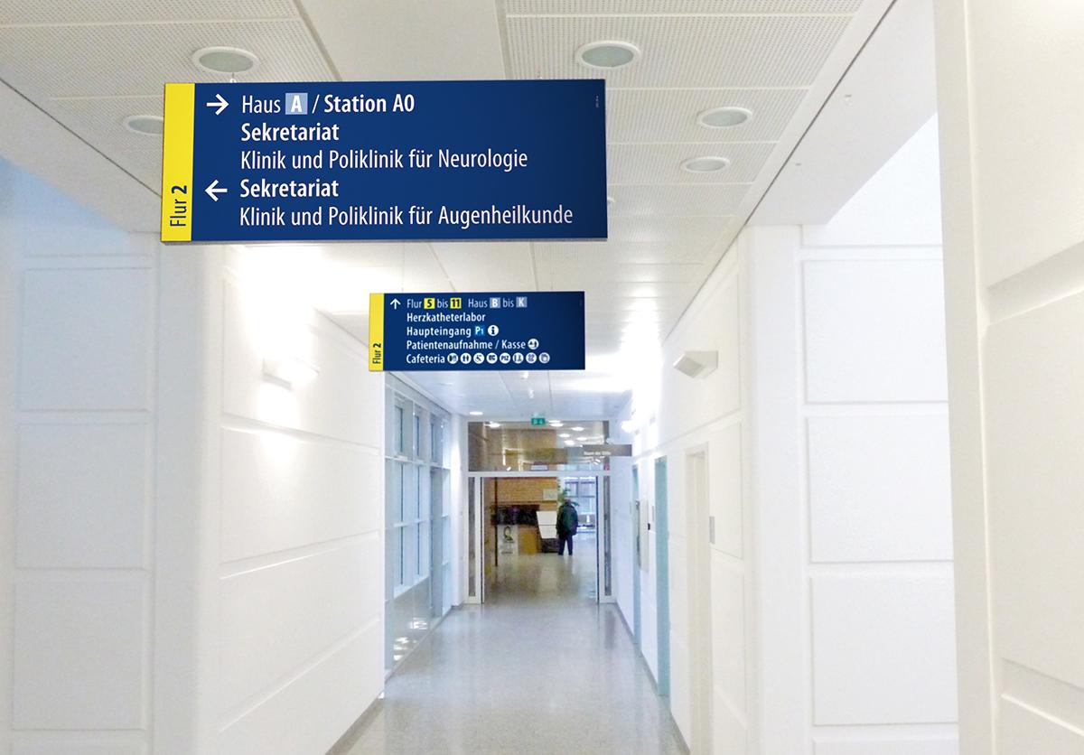 Universitätsklinikum Greifswald_Deckenschild