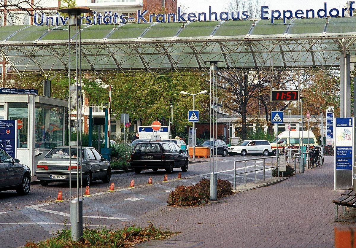 Uniklinik Eppendorf_Einfahrt