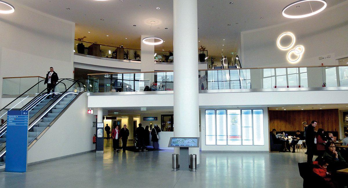 Klinikum Kassel_Eingang