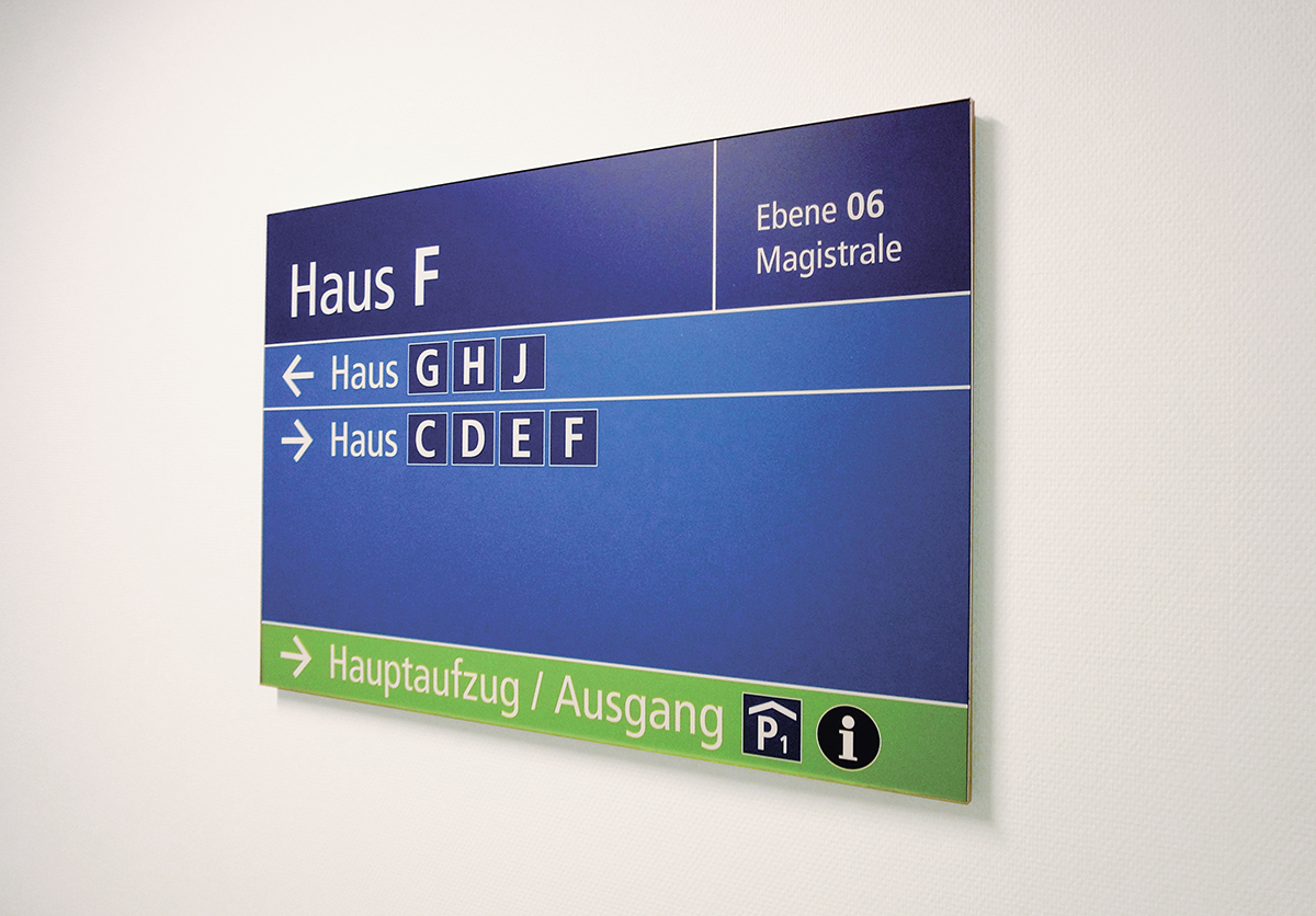 Klinikum Kassel_Wegweiser