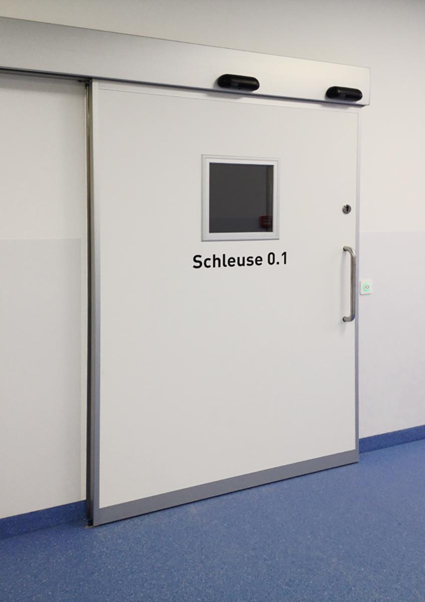 Schön Klinik_Schleuse